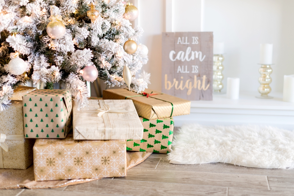 rustic wrapping paper