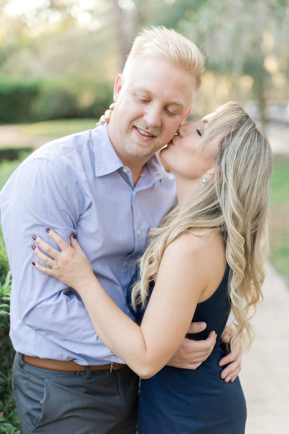 kraft azalea gardens engagement session