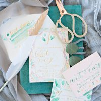 Ruffled - photo by Kristen Weaver Photography http://ruffledblog.com/rock-quarry-inspired-wedding-ideas