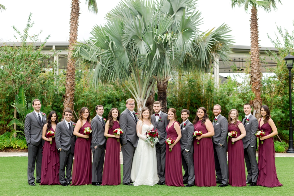 big bridal party