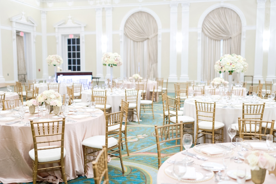 Vinoy ballroom wedding reception