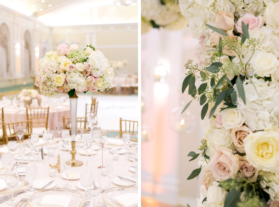 reception flower ideas