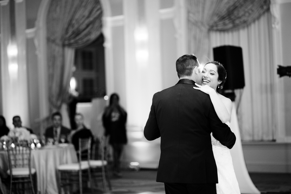 first dance at vinoy wedding reception