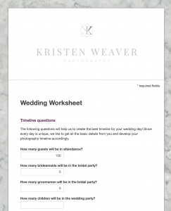 How To Create A Wedding Day Timeline For Photos Orlando