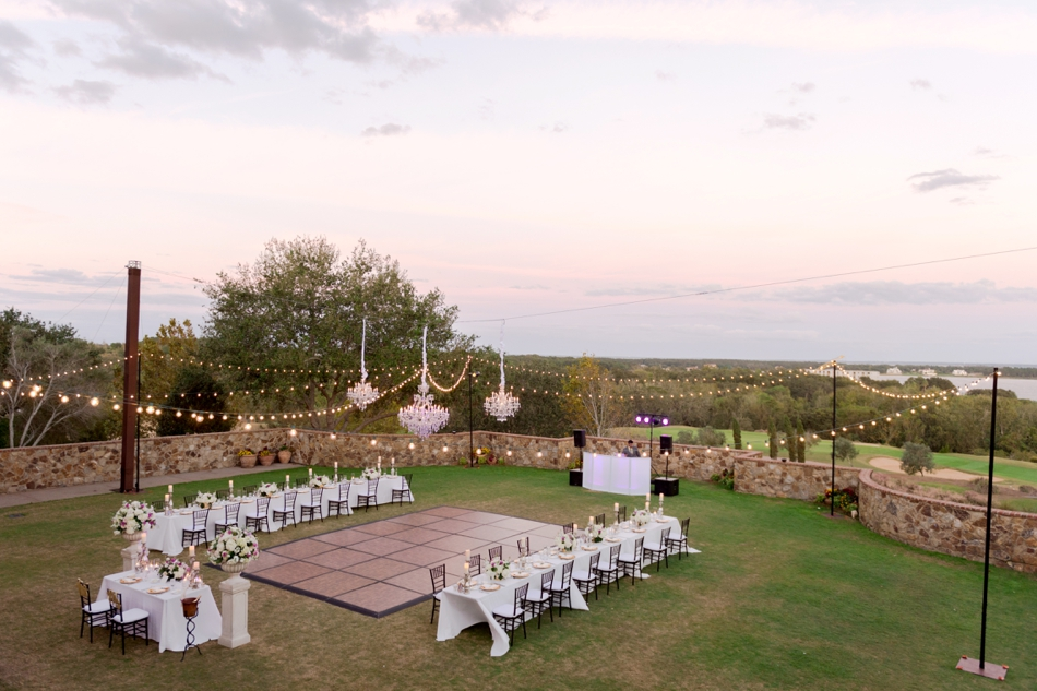 small wedding at bella collina