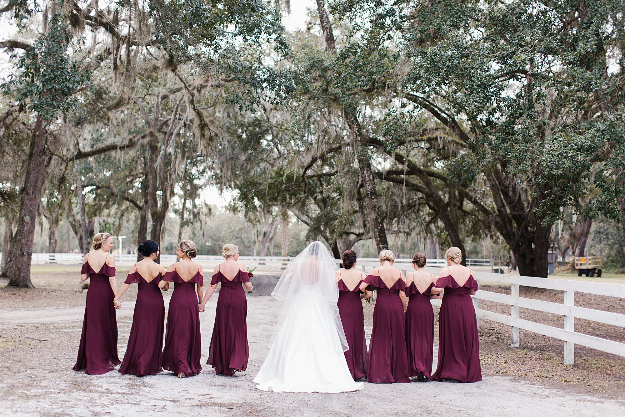 bridesmaids dresses with flutter sleeves