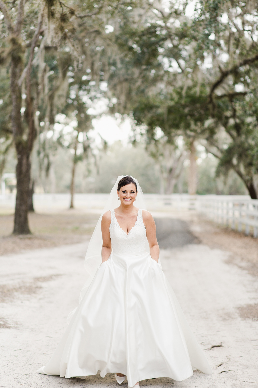 unique bridal portraits
