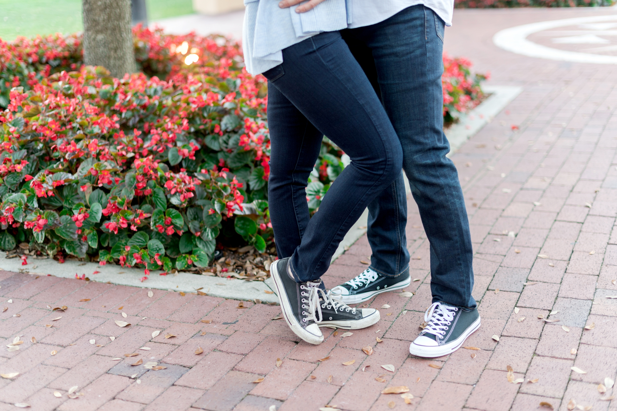 converse sneakers engagement pics