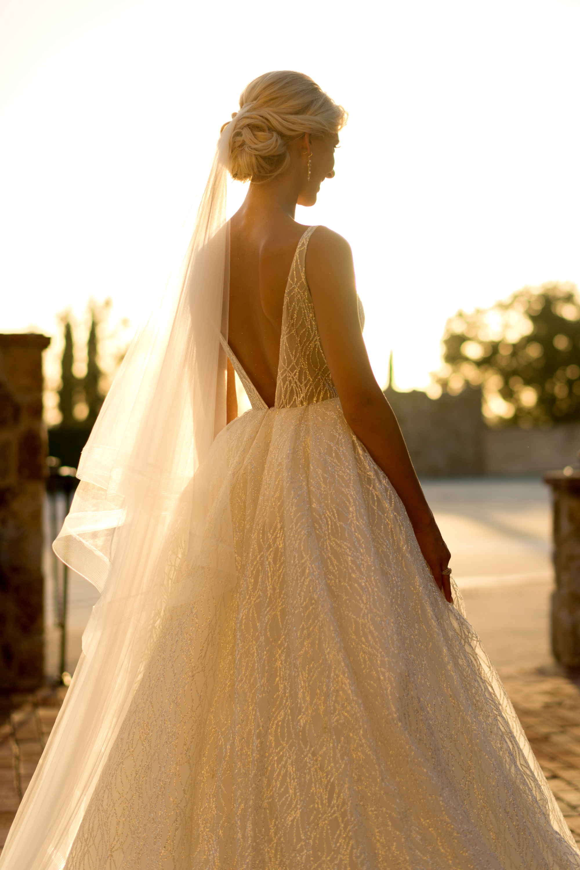 amazing lazaro wedding dress