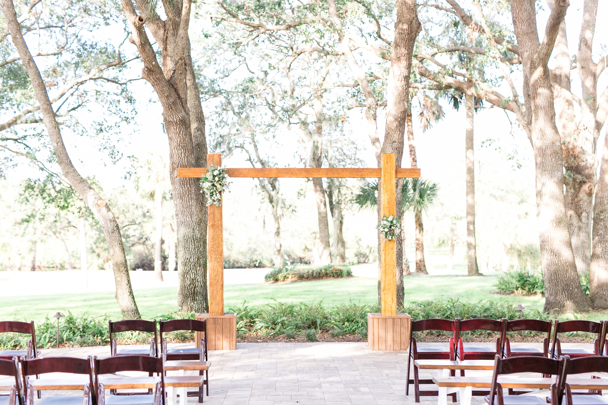 outdoor wedding venue in orlando