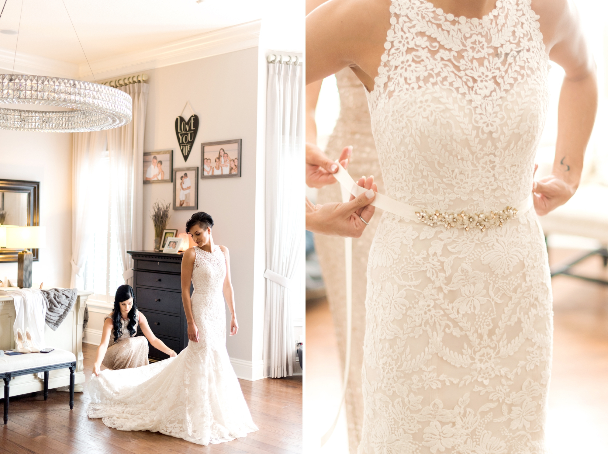 anthropologie lace wedding gown