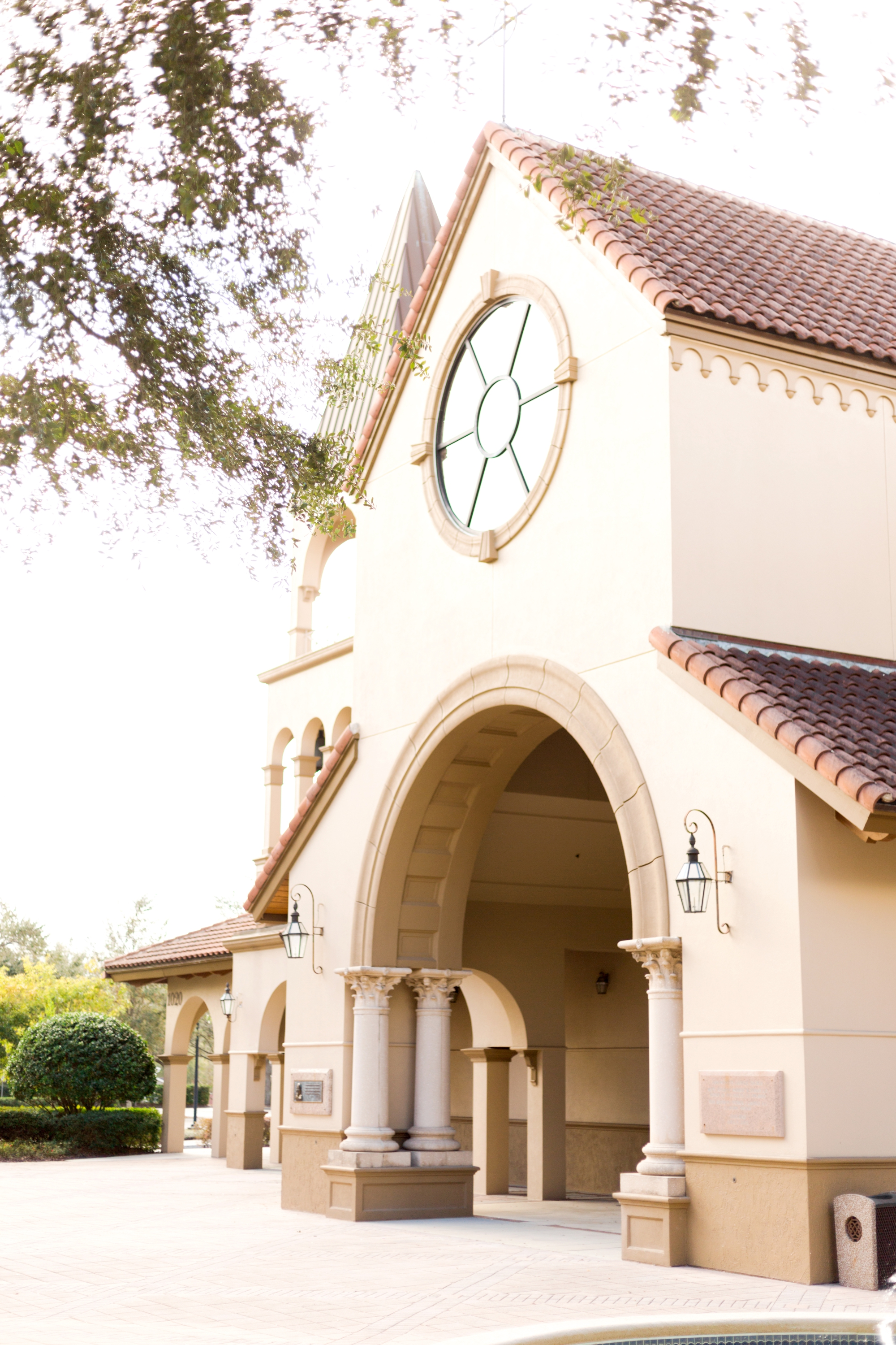 Annunciation catholic church wedding lake mary florida