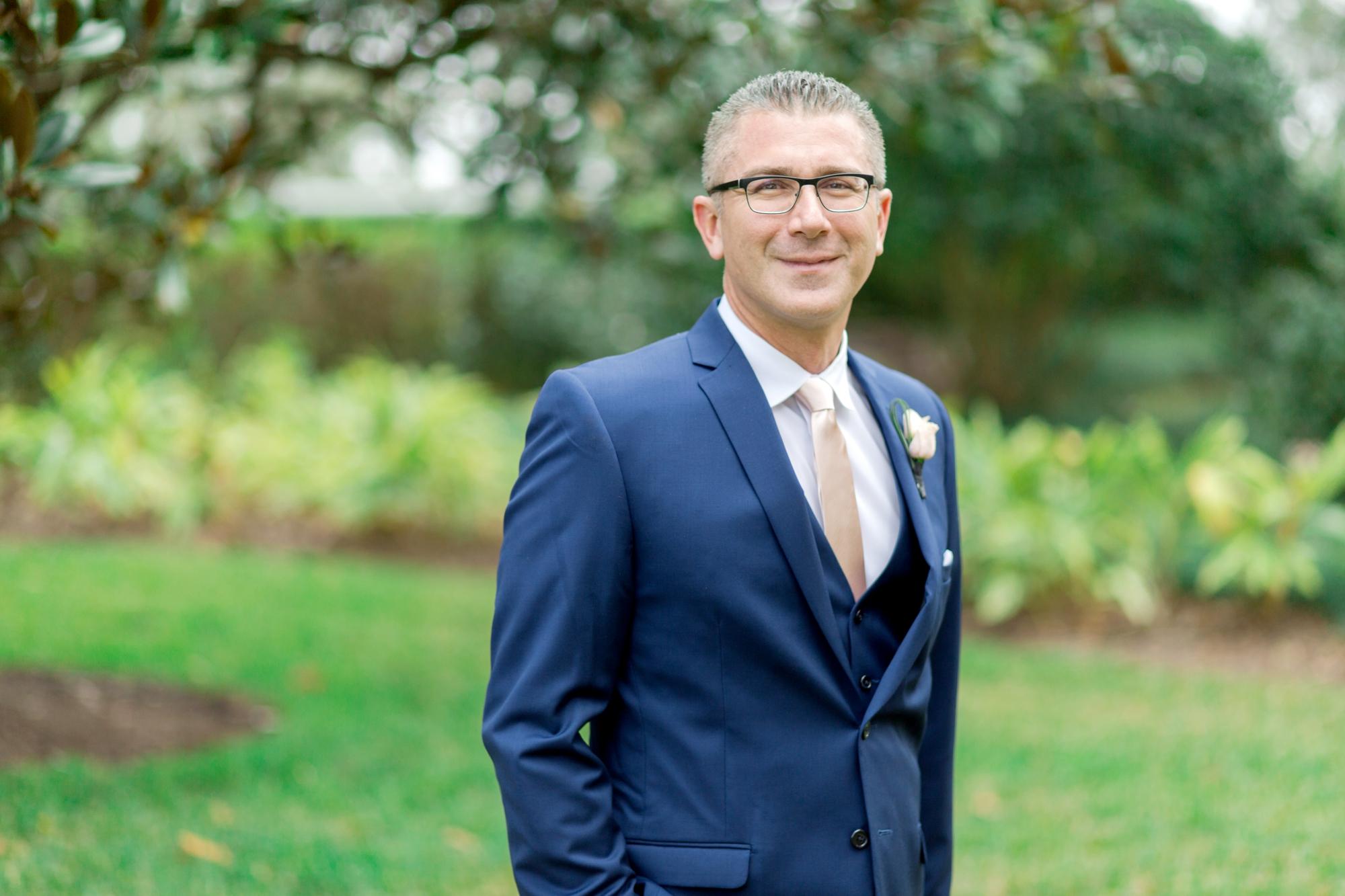 classic groom look