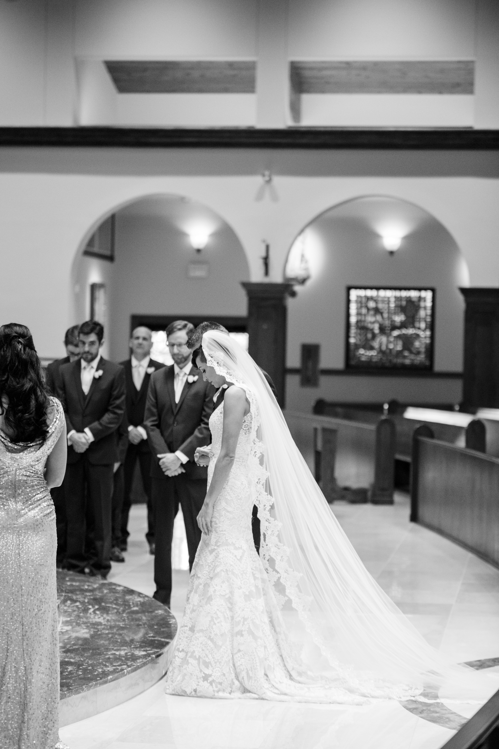 luxury catholic wedding in orlando