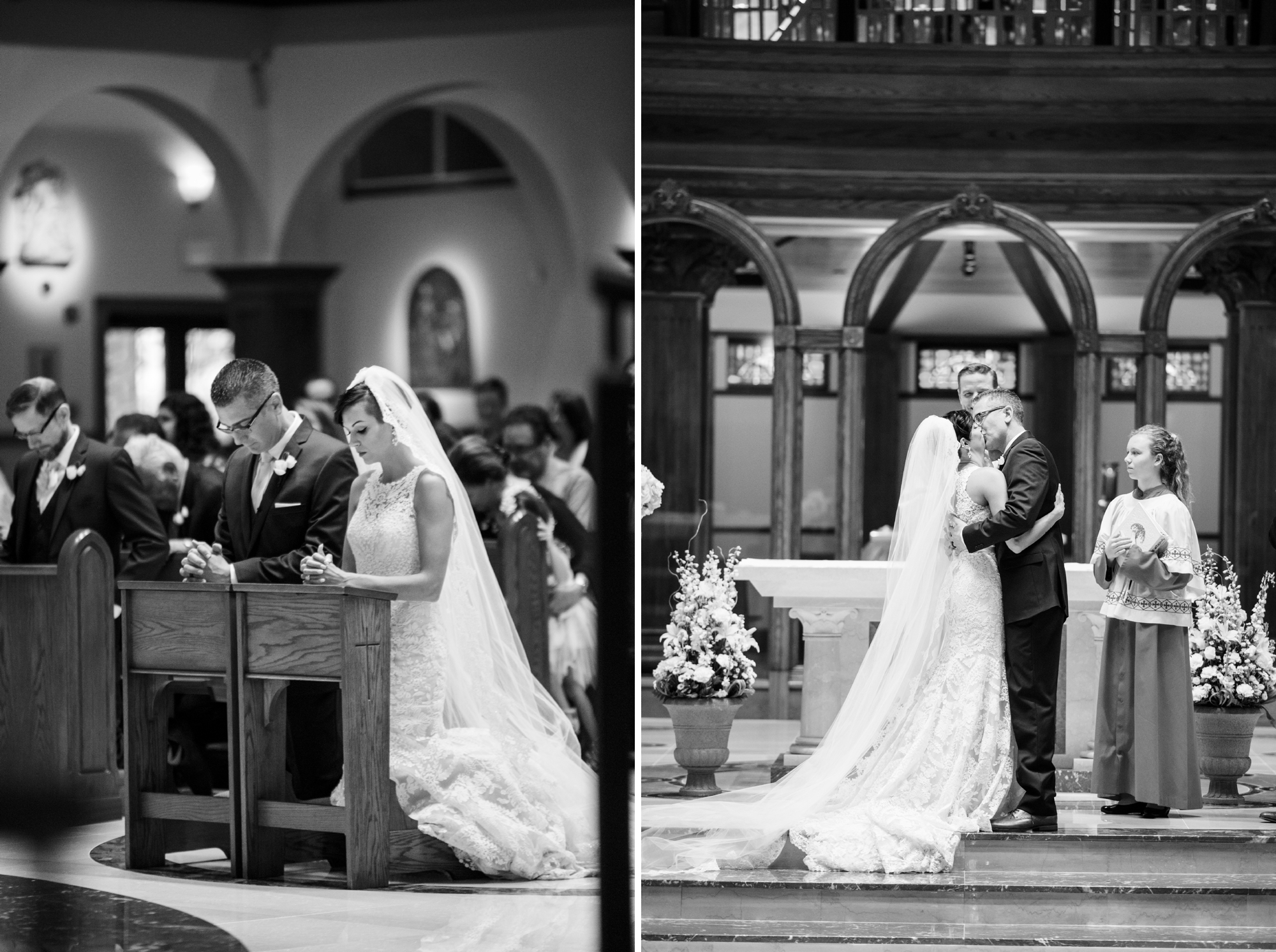 annunciation catholic church wedding