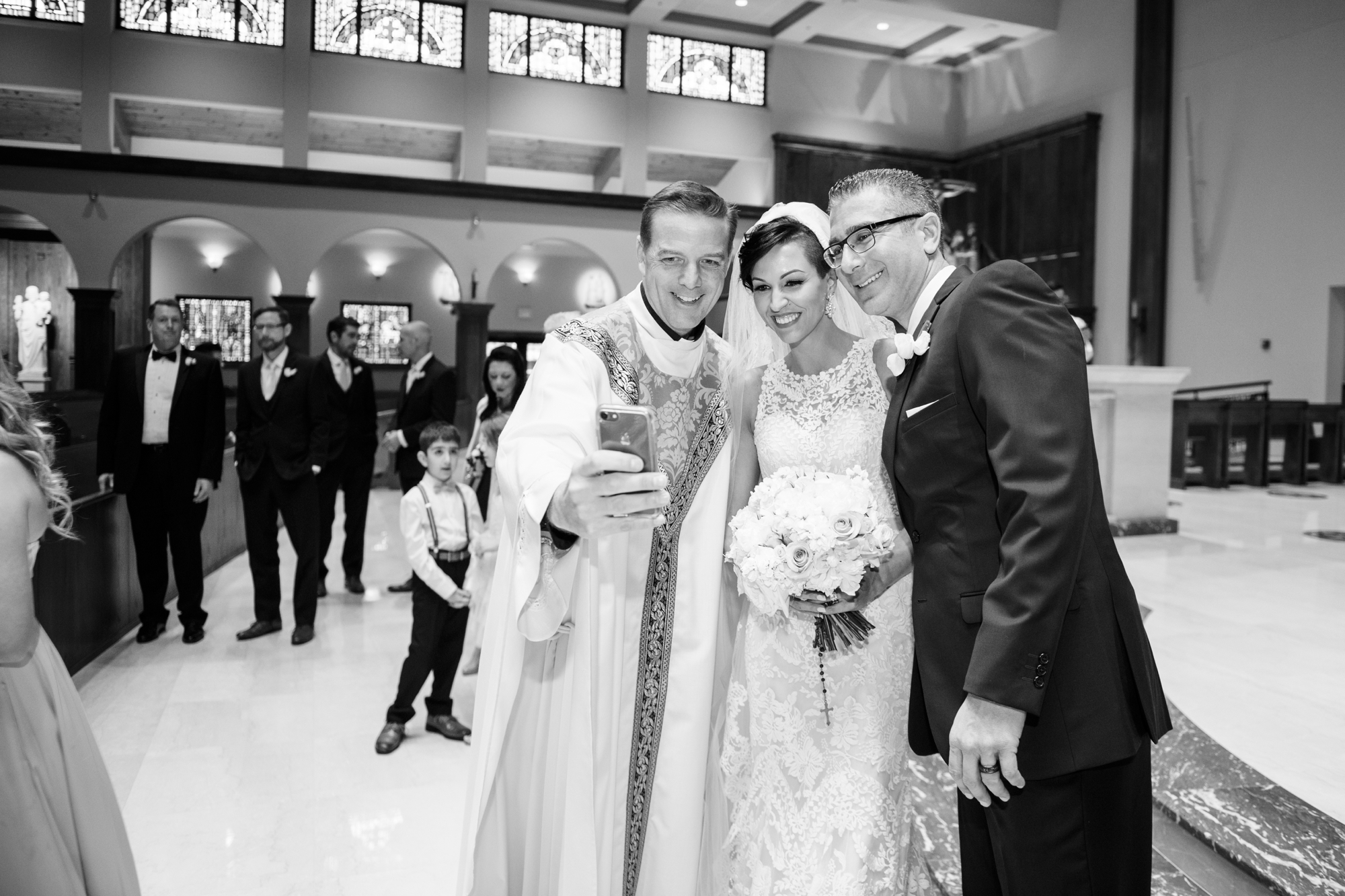 annunciation catholic church wedding ceremony