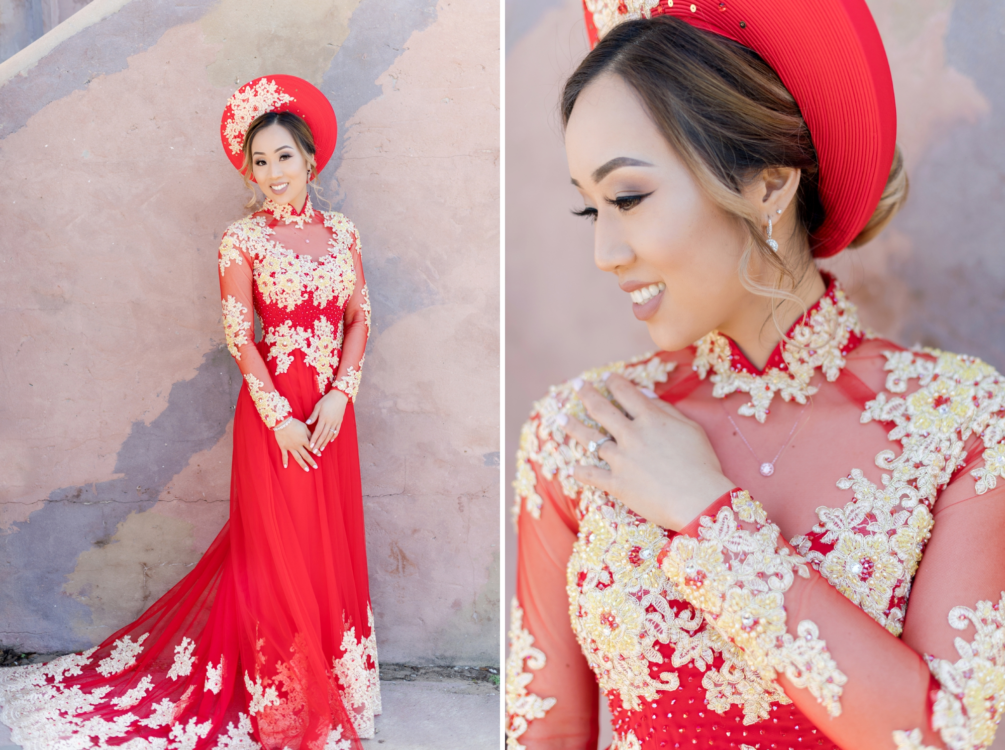 Vietnamese wedding attire