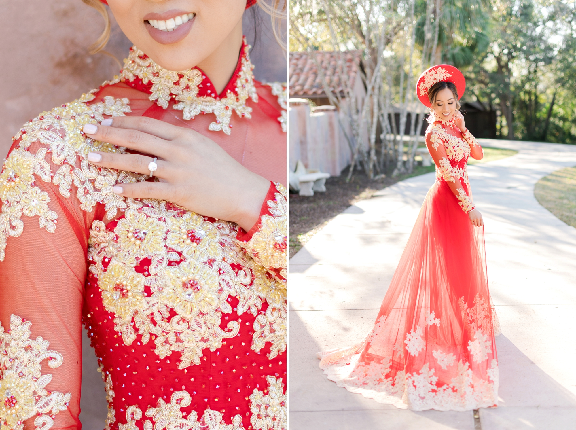 Vietnamese wedding details