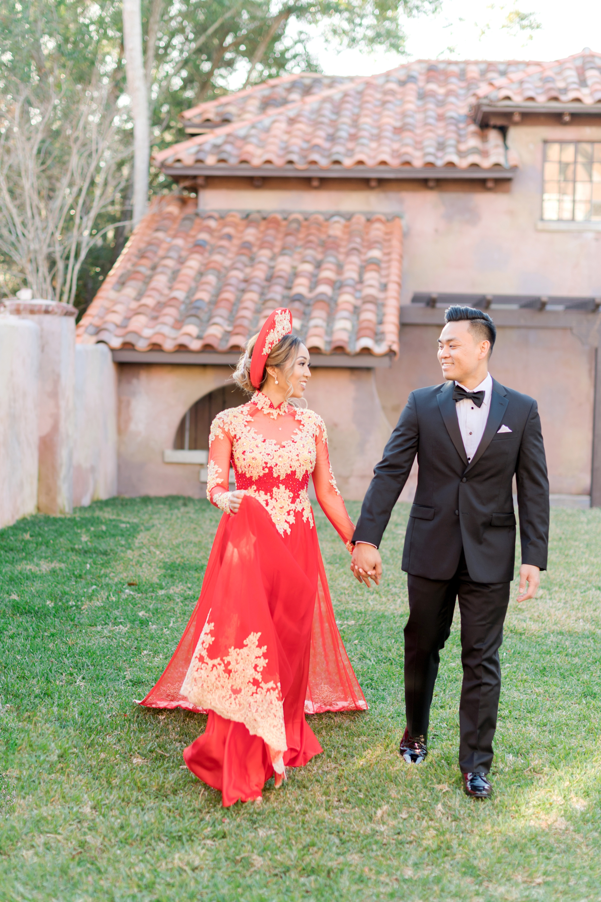 Vietnamese wedding ceremony
