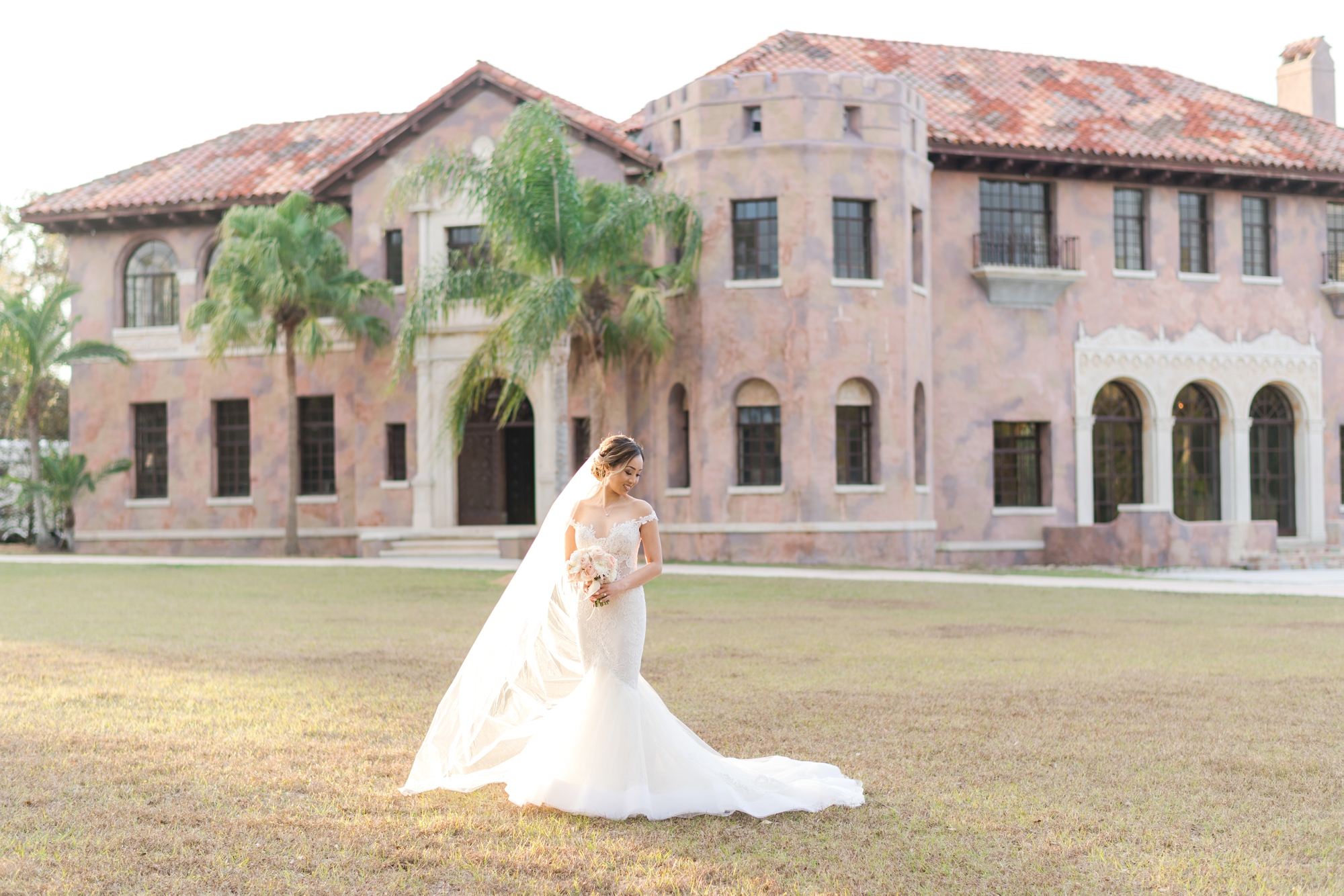 howey mansion wedding ceremony