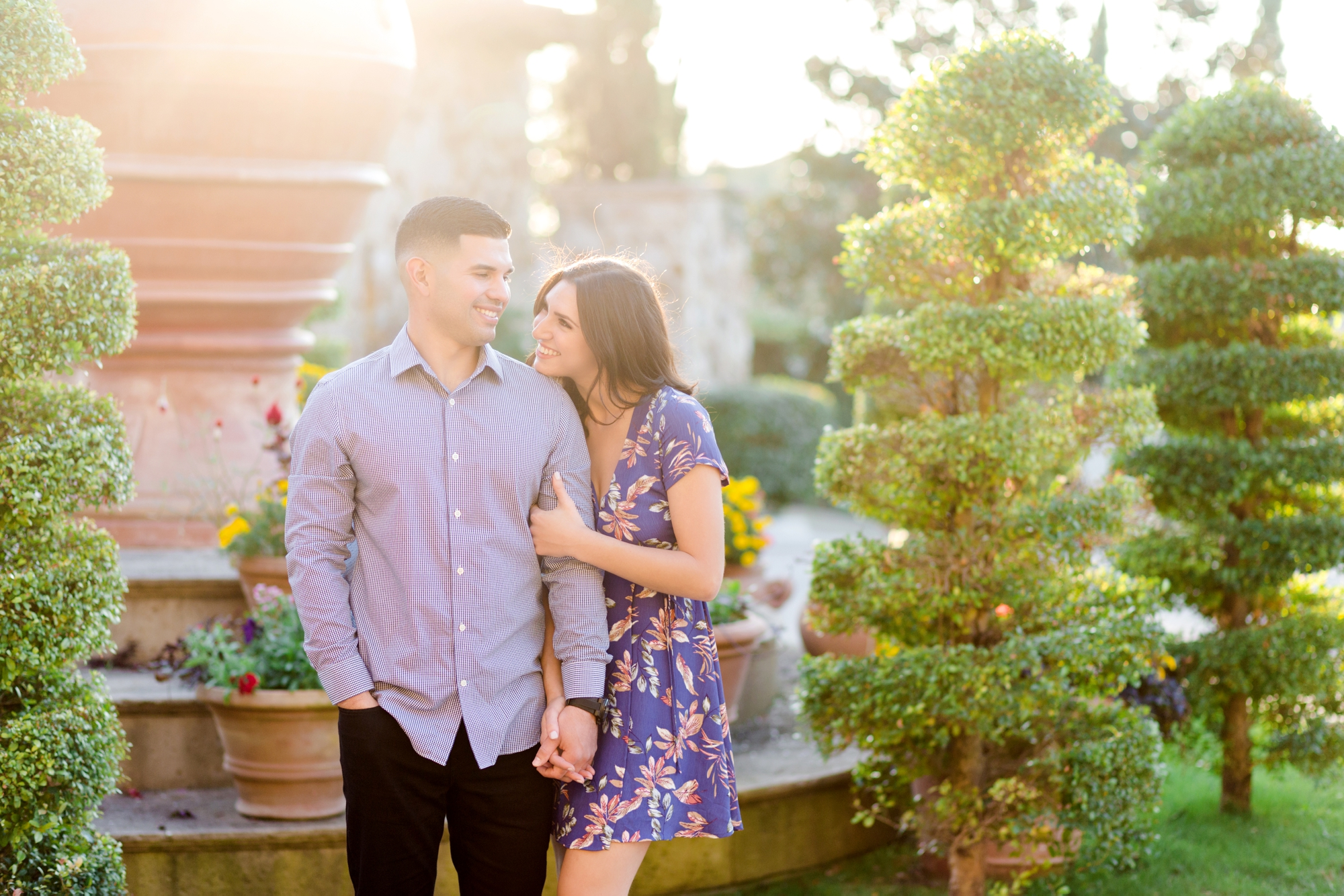 Golden Hour Engagement