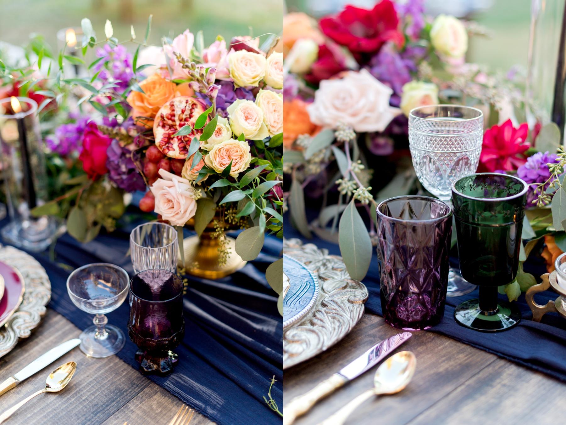 dishie rentals vintage glassware