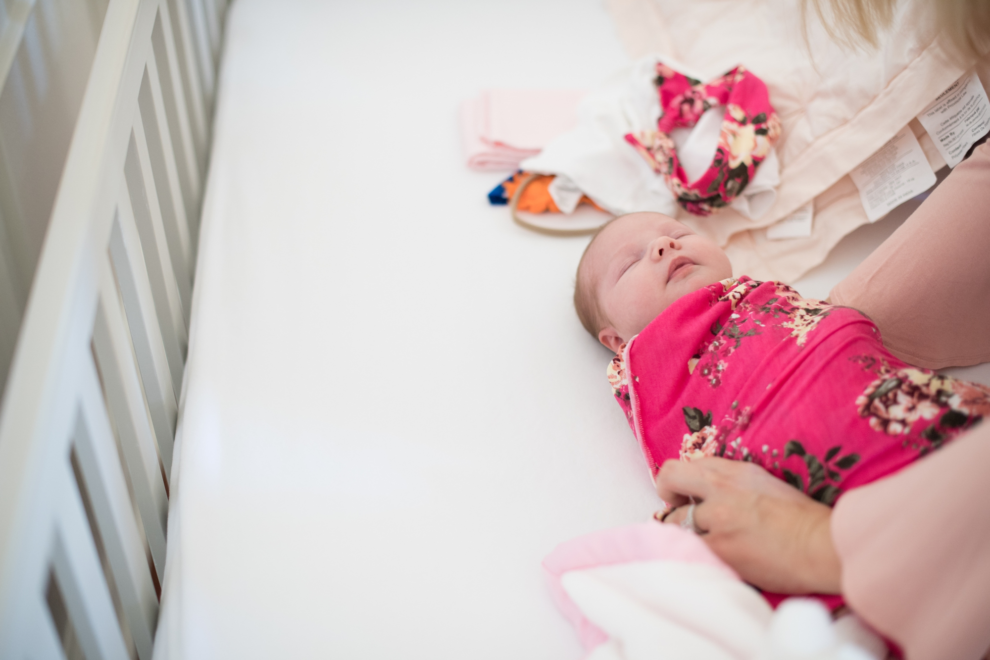 At Home Newborn Shoot