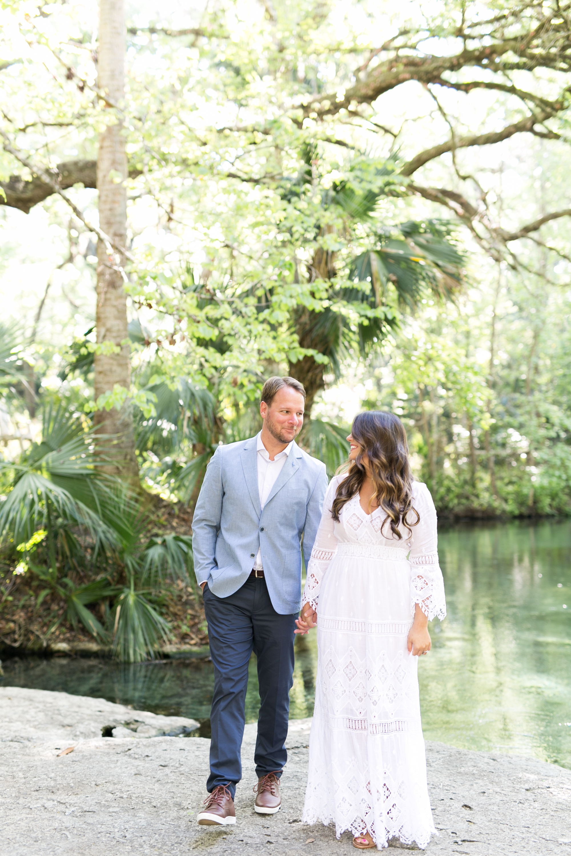 Natural Springs Engagement Session