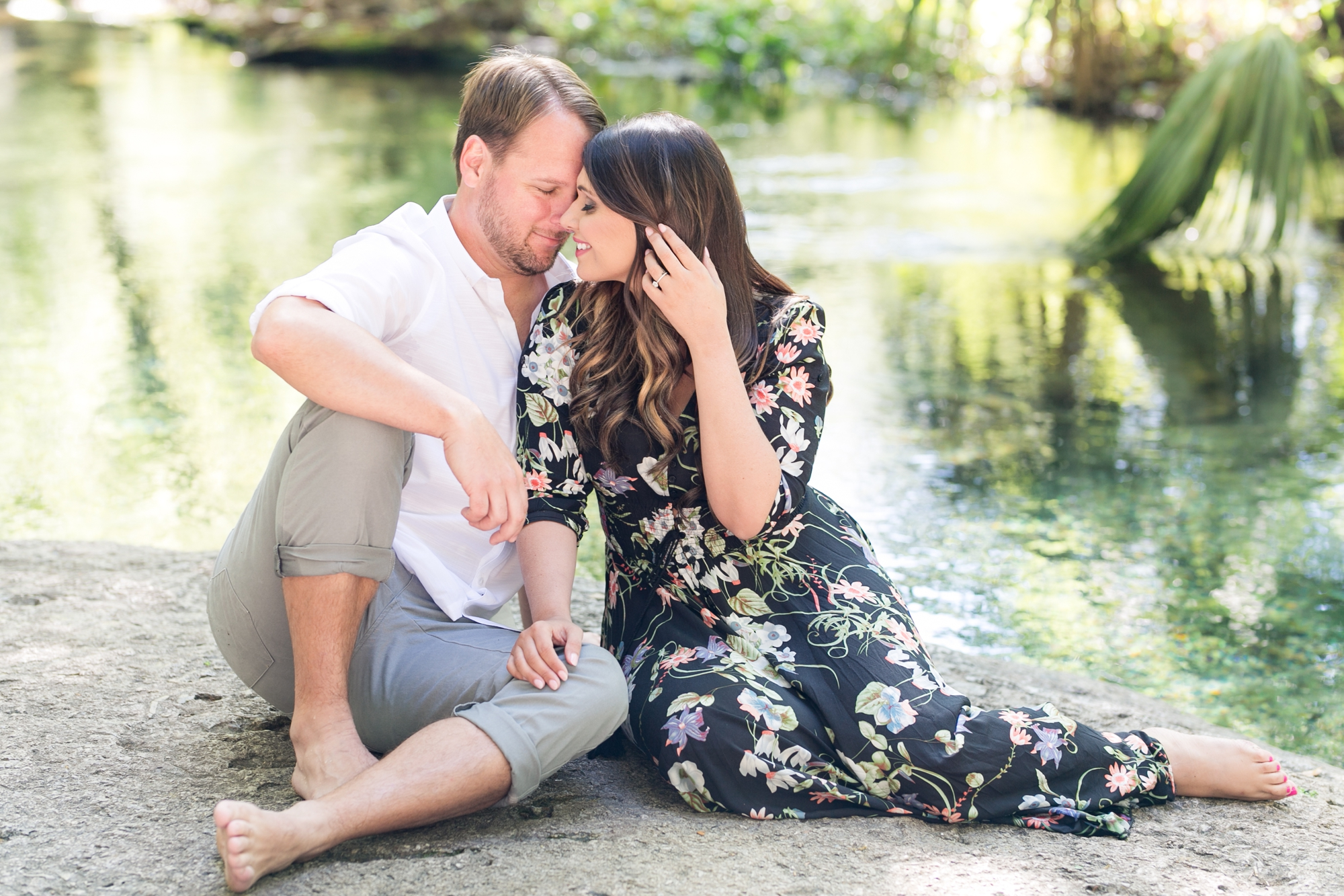 Natural Springs Engagement
