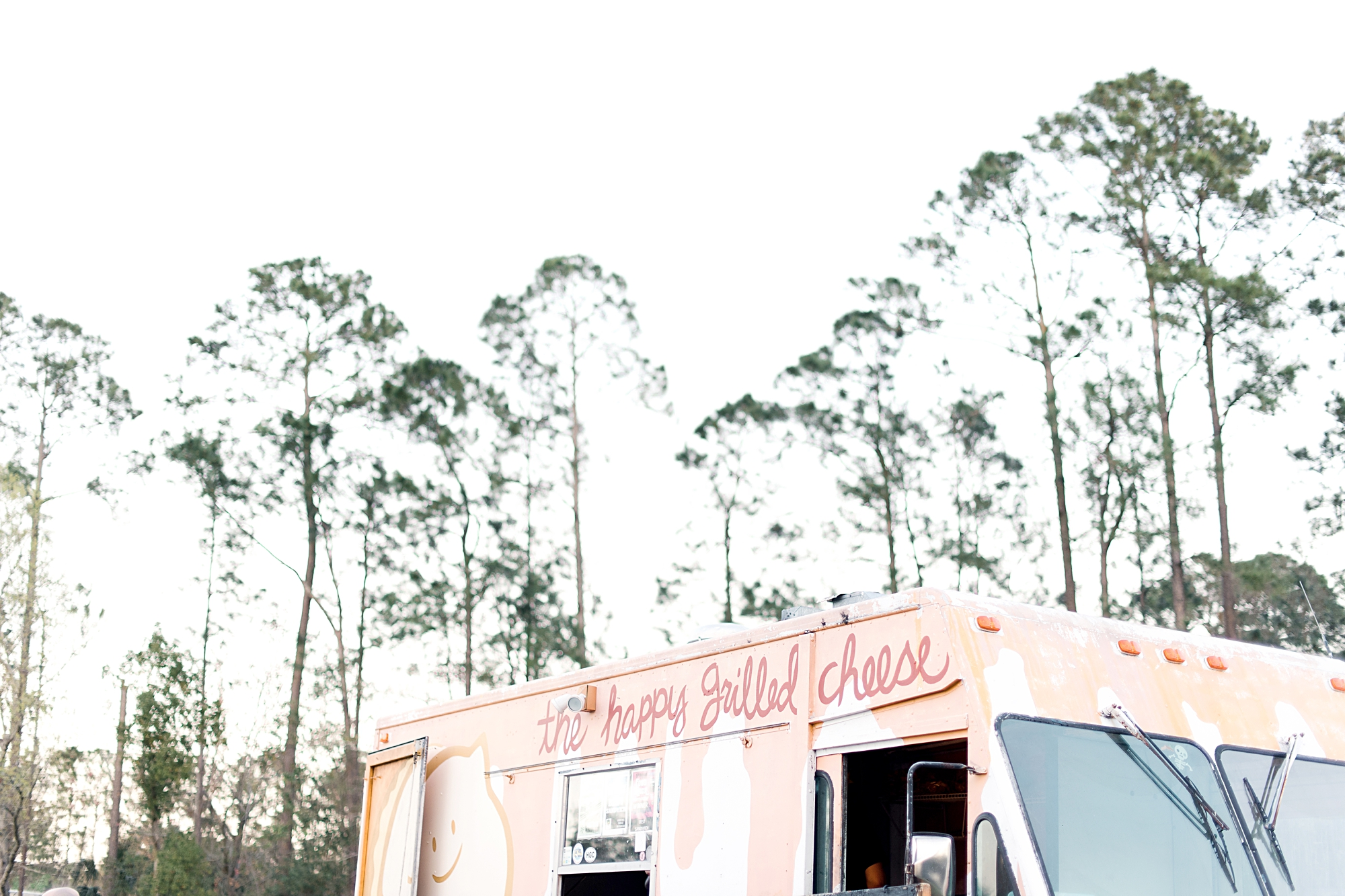 The Happy Grilled Cheese food truck wedding reception
