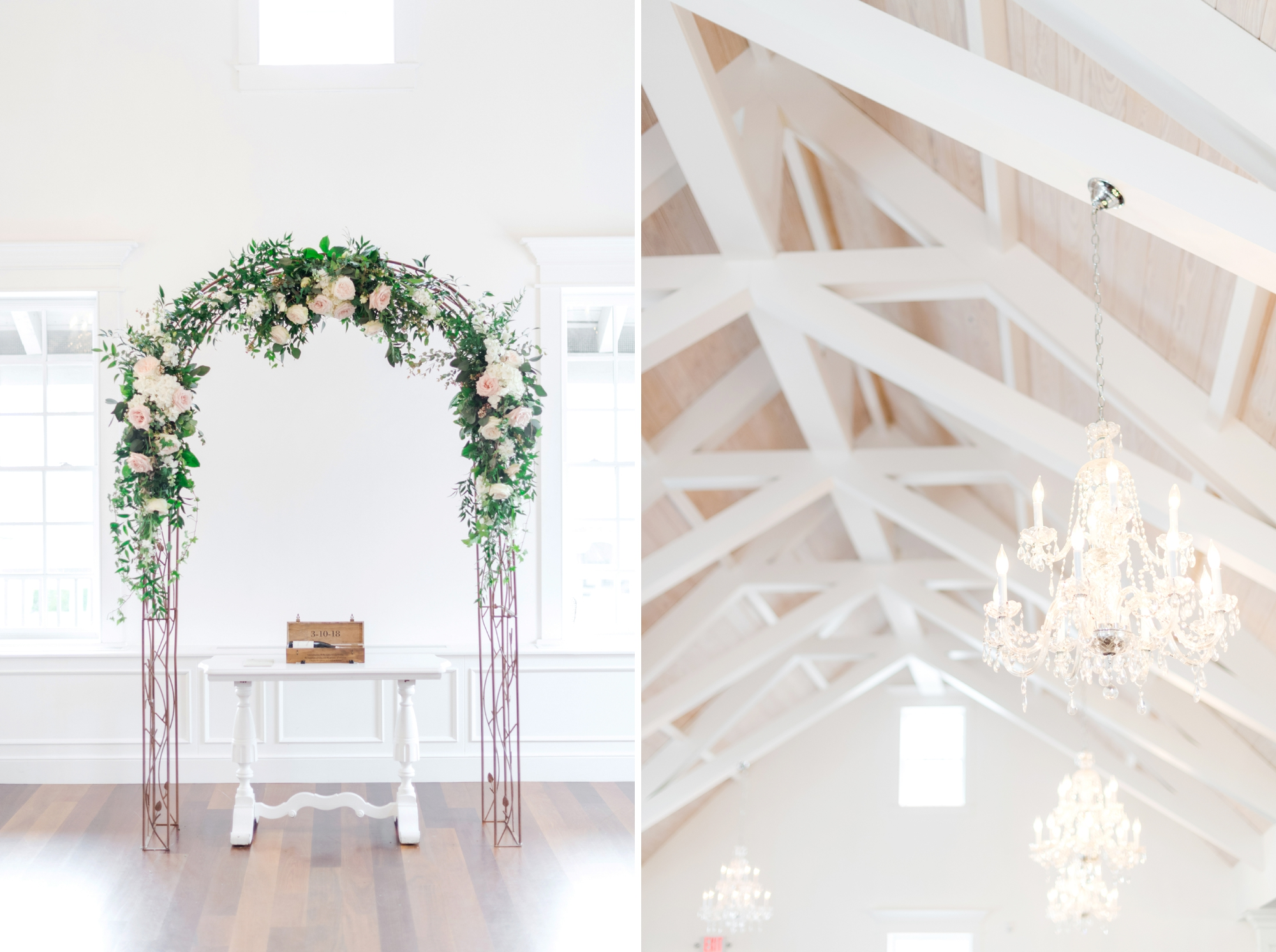 villa blanca white room wedding