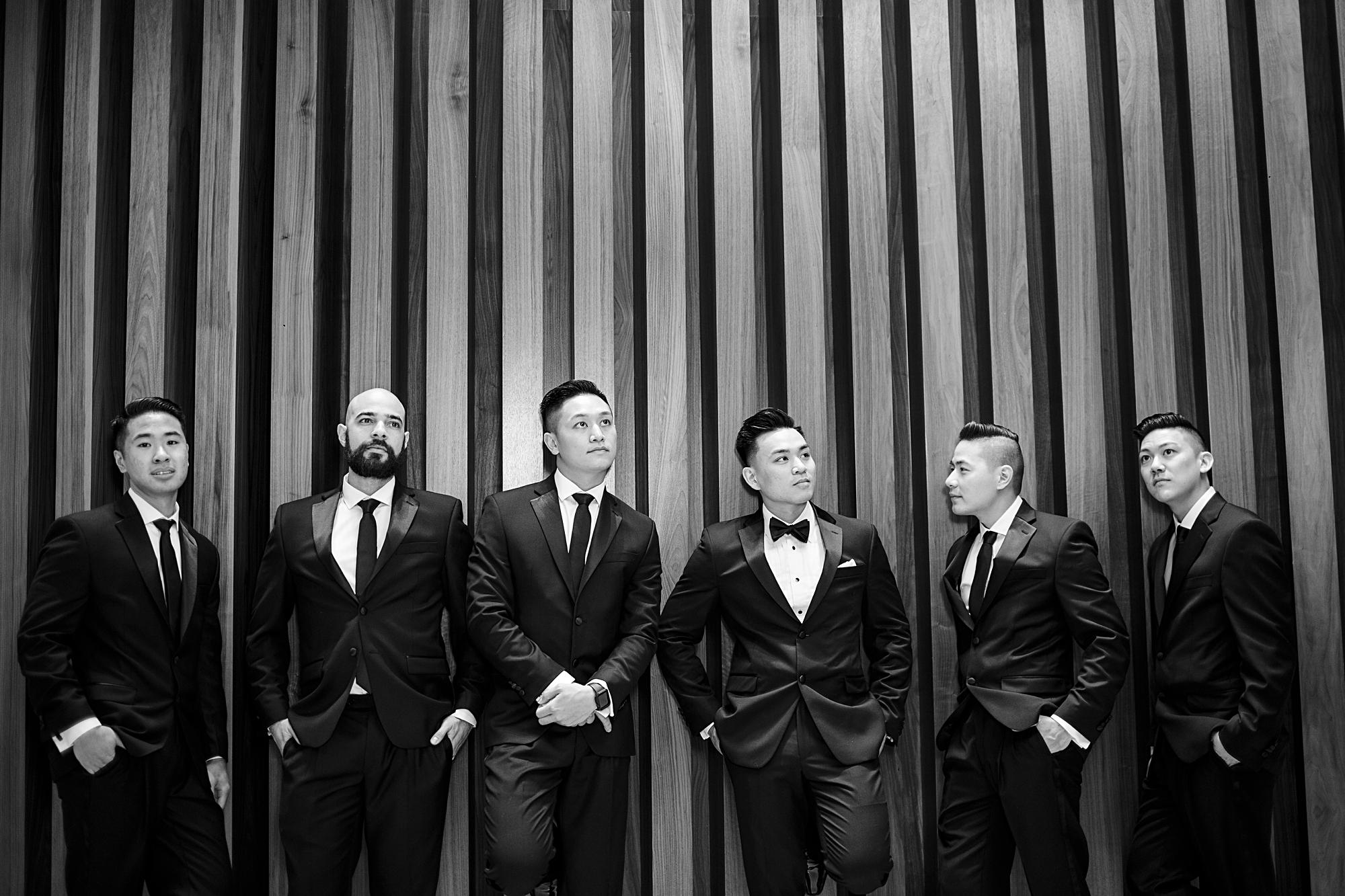 classic groomsmen