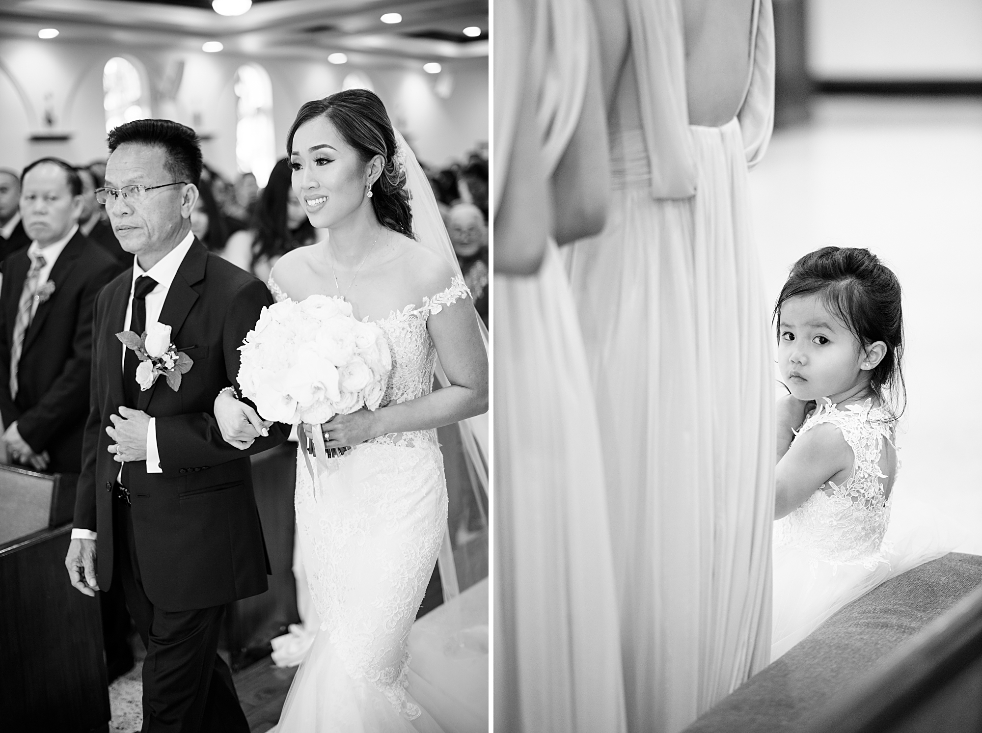 Vietnamese catholic wedding ceremony