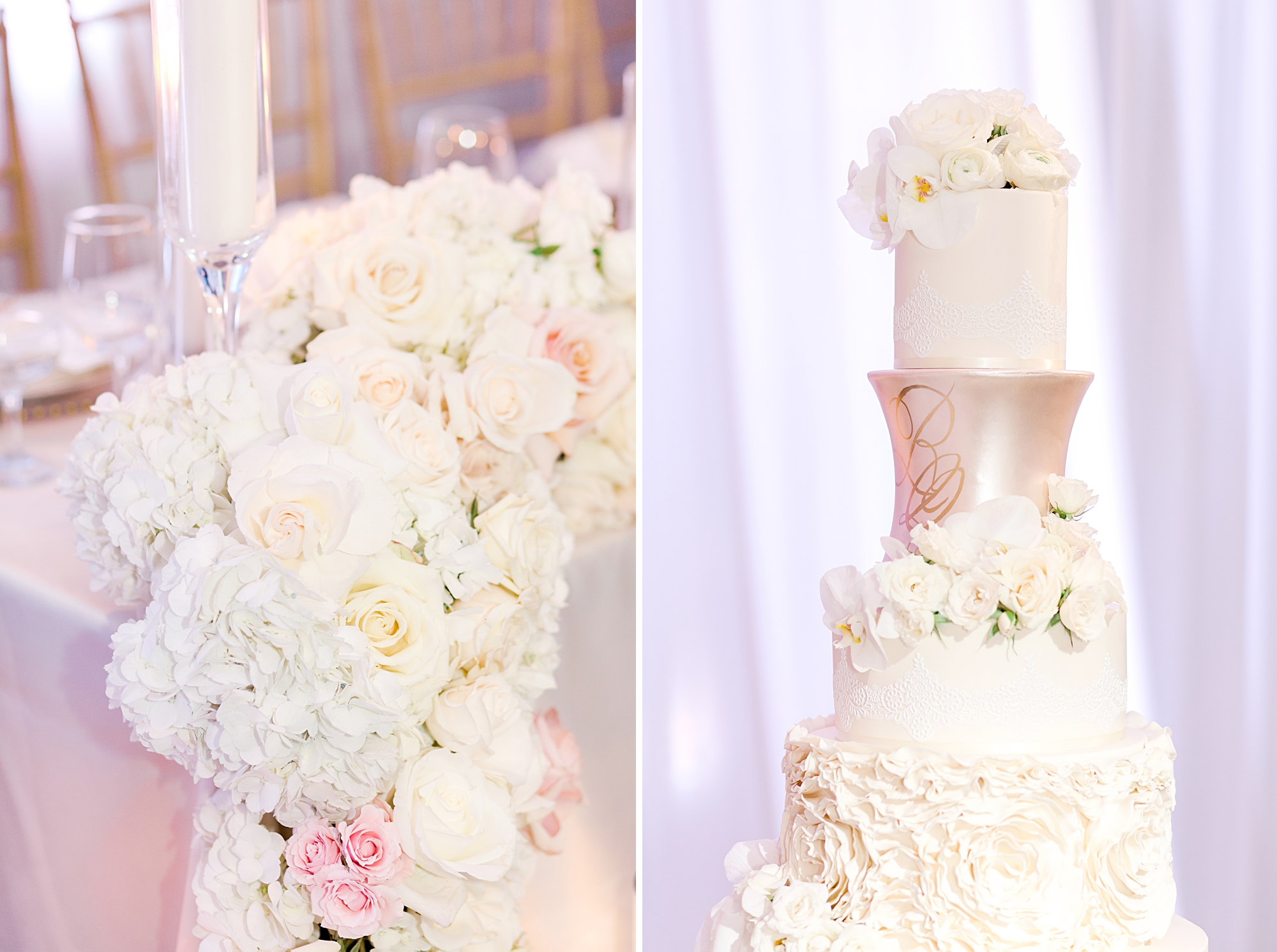 Luxury wedding cake miami
