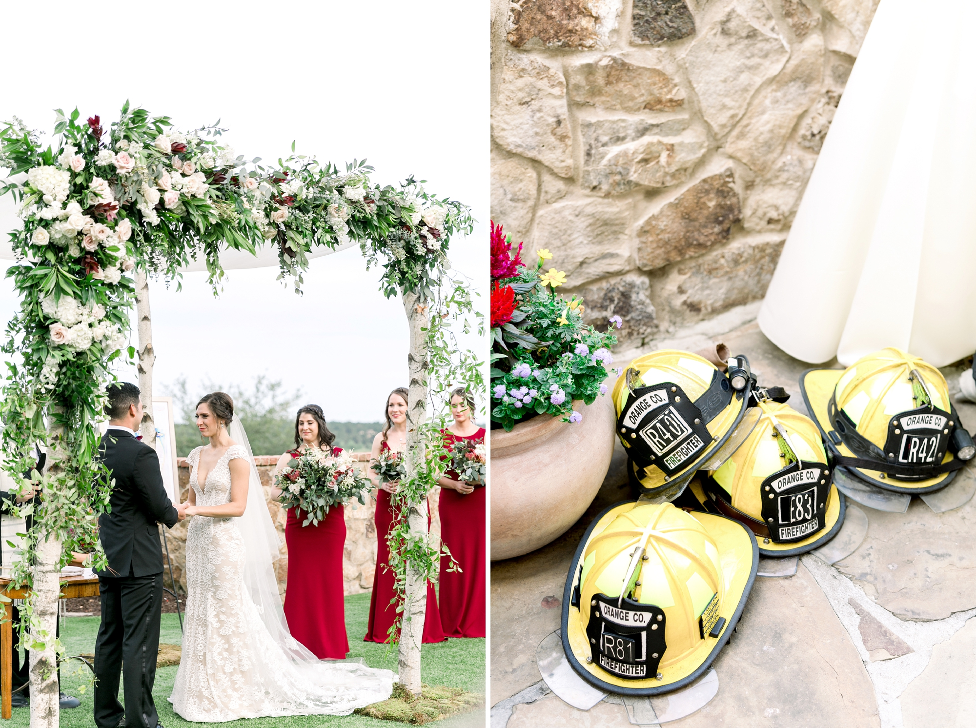fireman wedding ideas