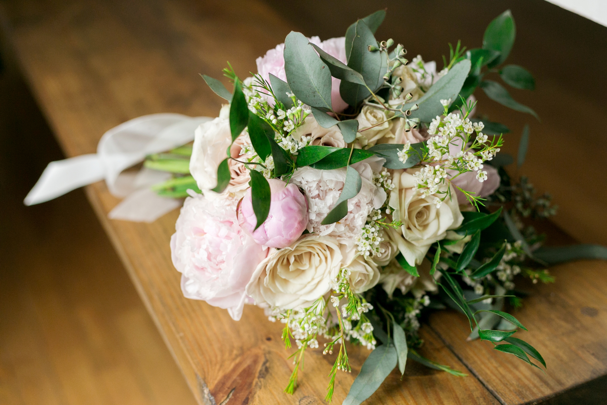 bouquet for rustic wedding