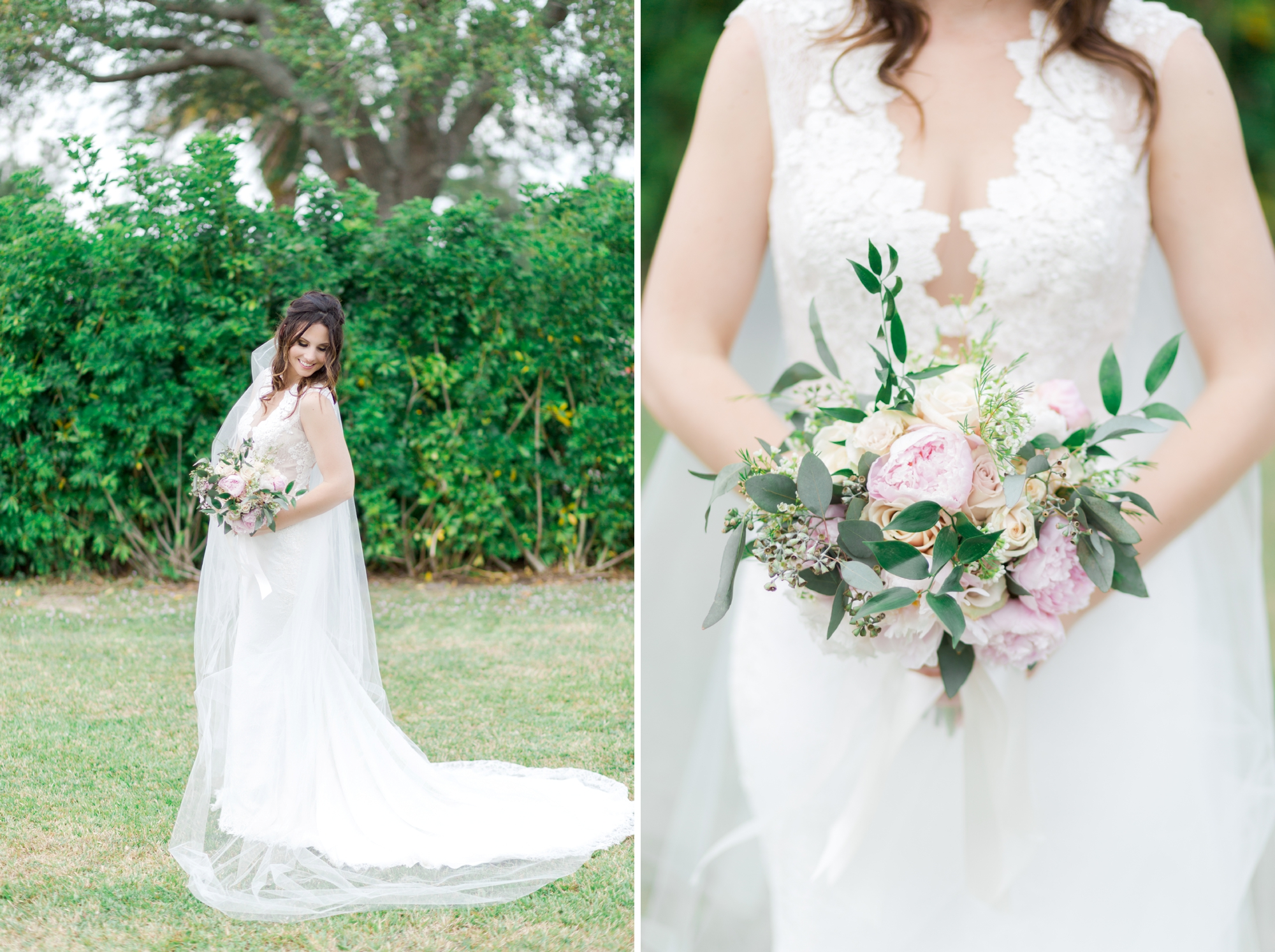 simple bride bouquet