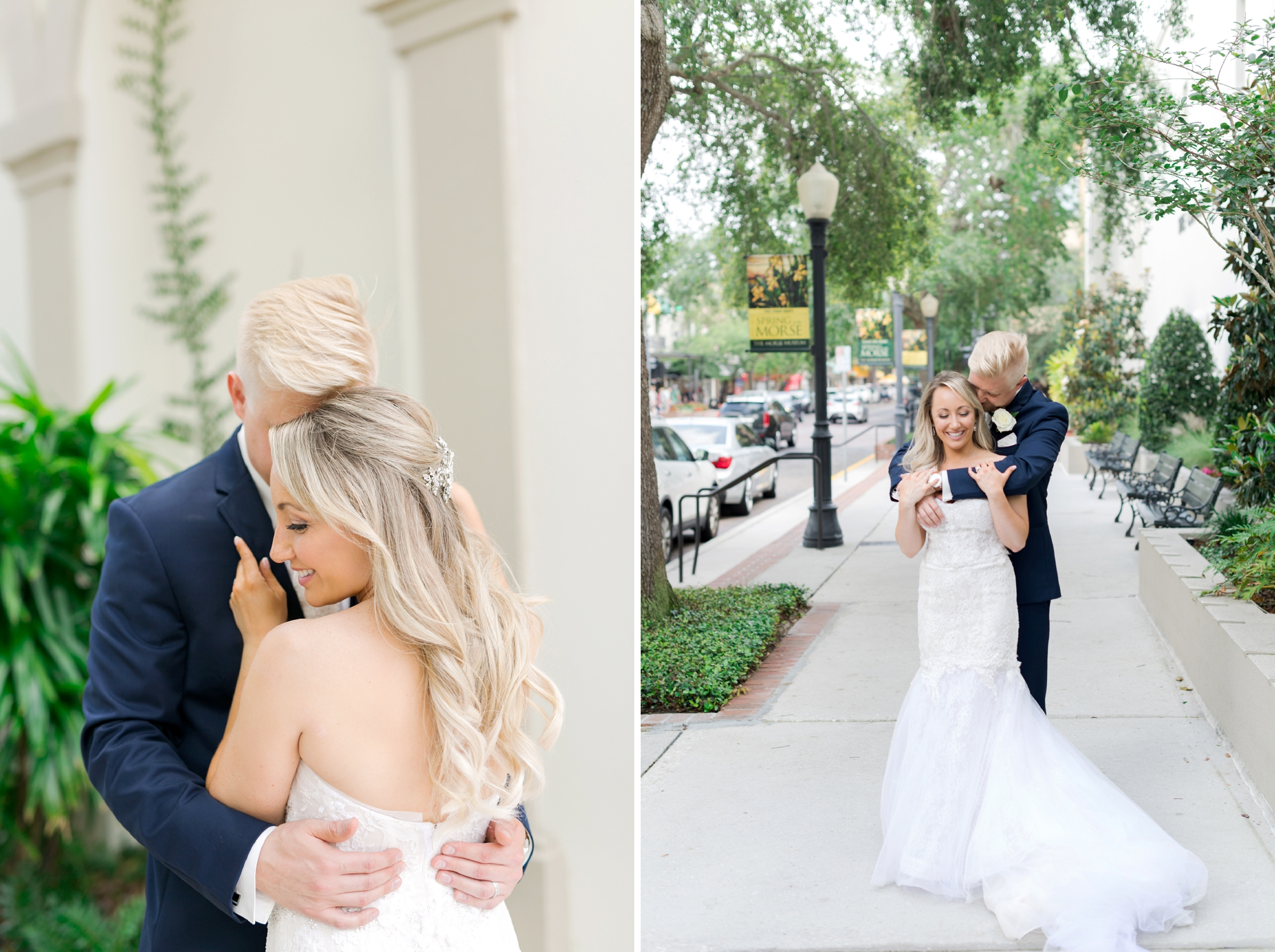 Winter Park wedding portraits