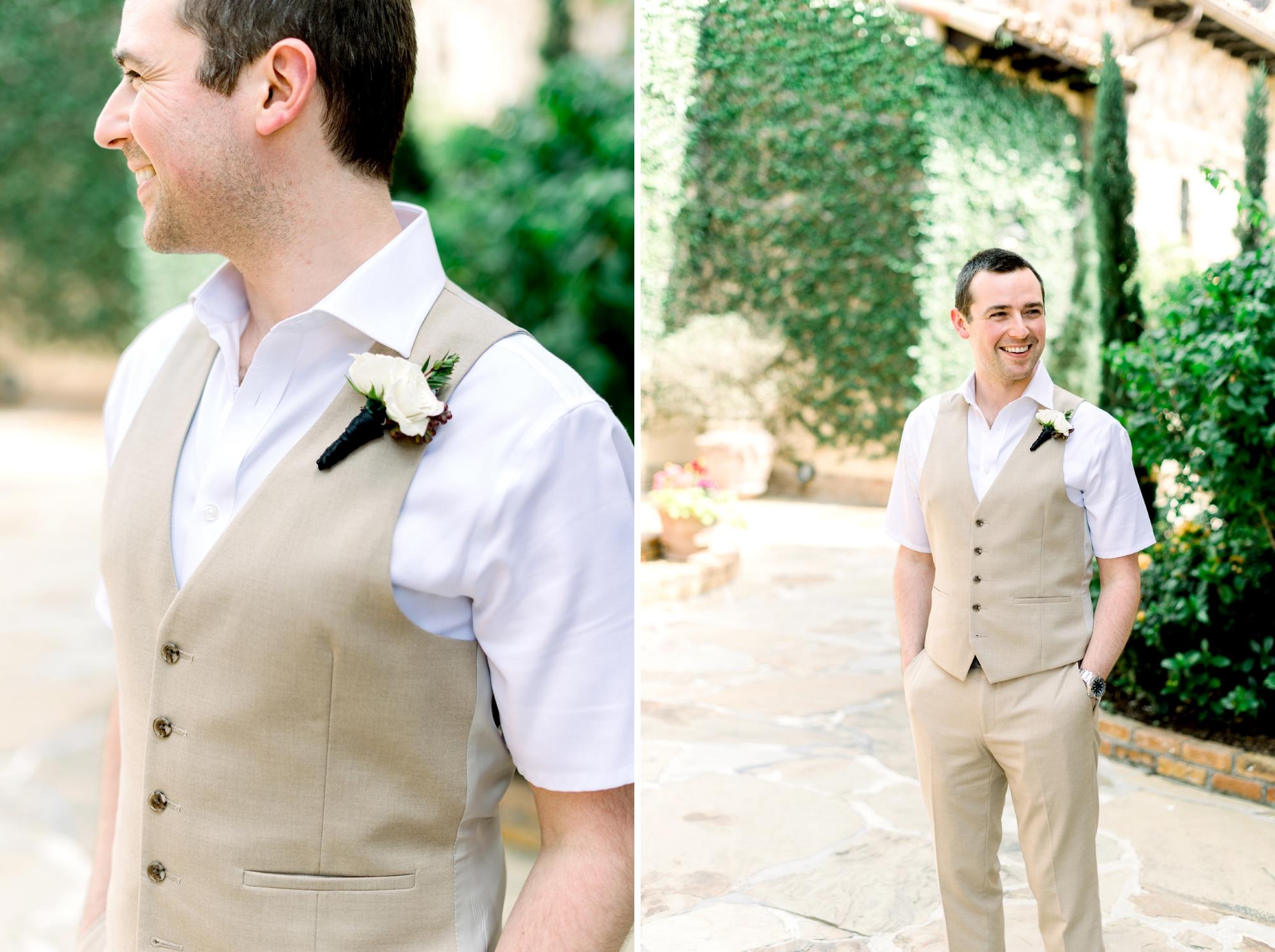 summer groom attire