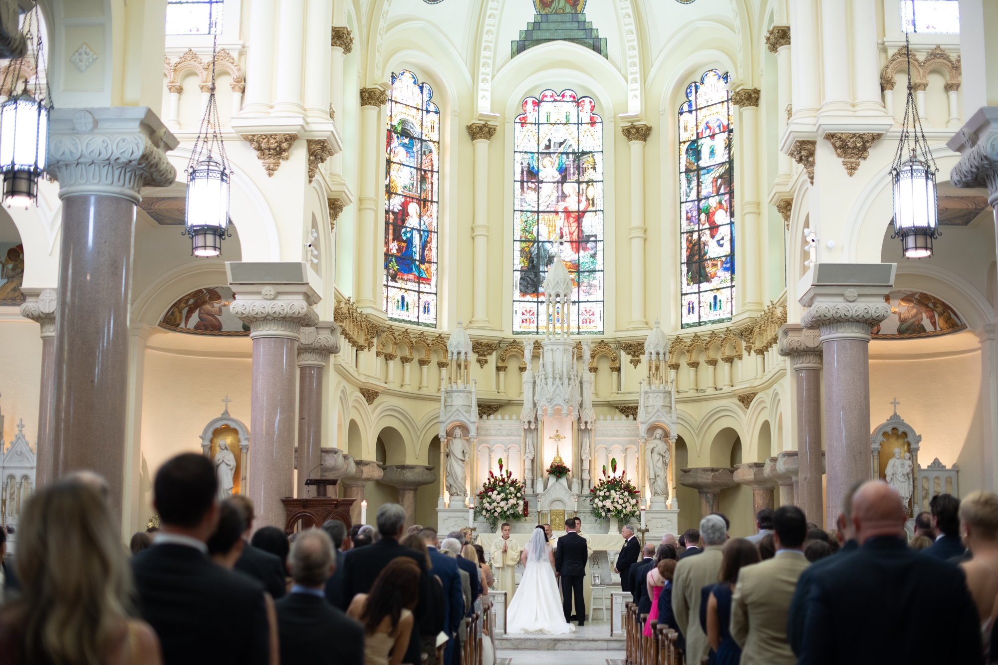 Catholic wedding ceremony Tampa