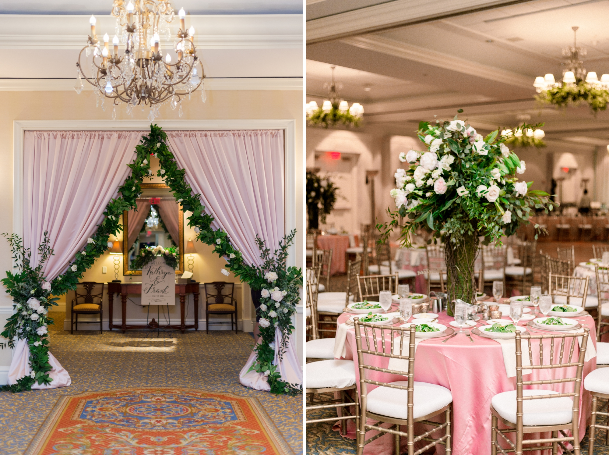 ballroom garden reception