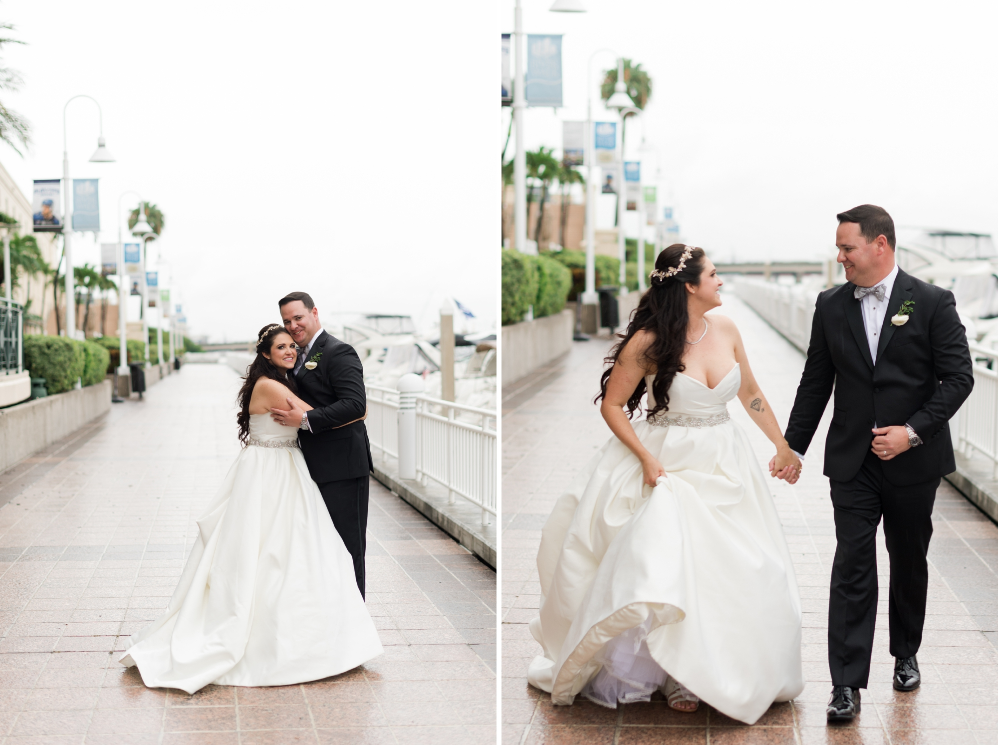 Tampa Marriott Waterside wedding