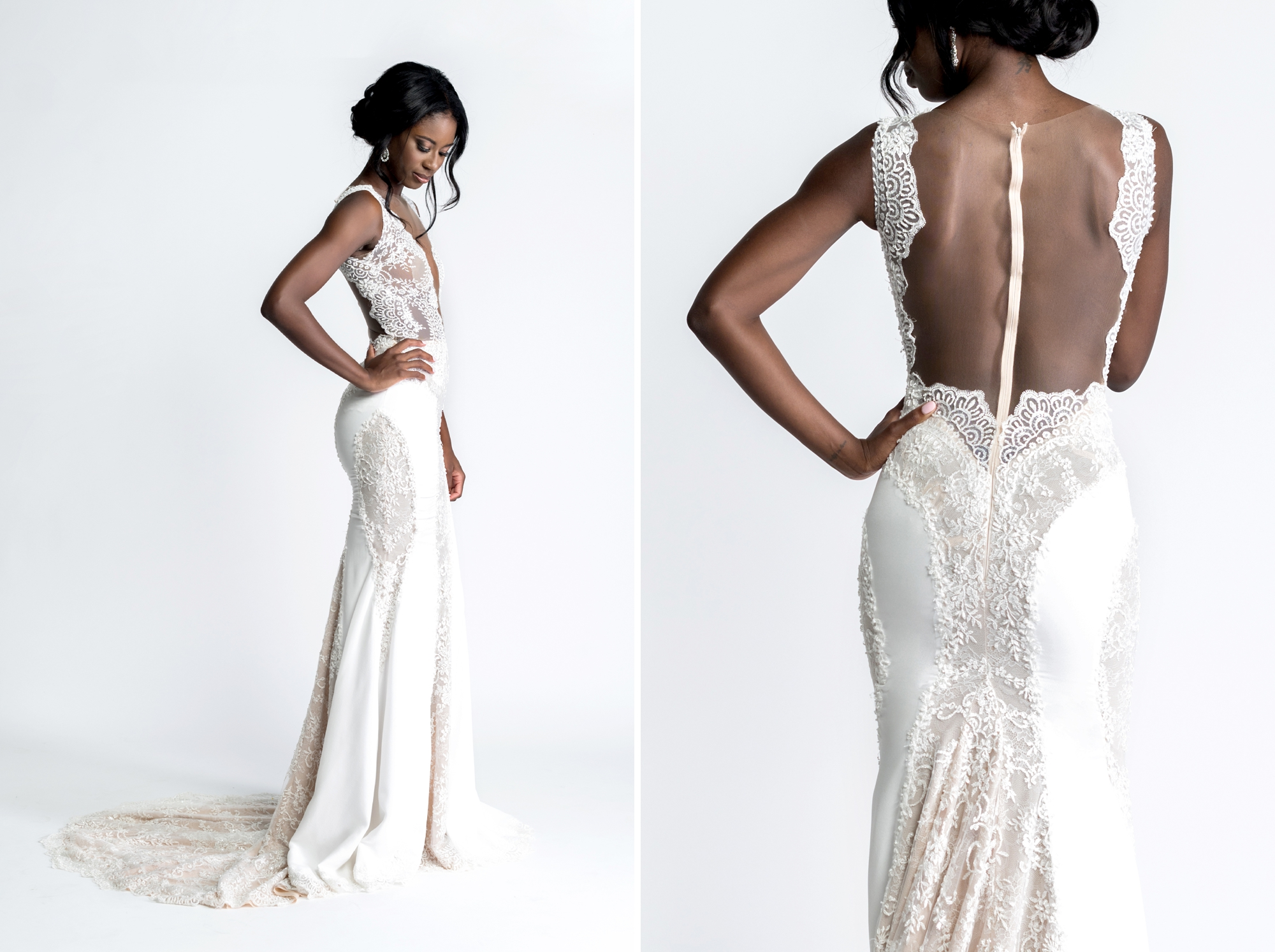 Ines di Santo gown from The Bridal Finery