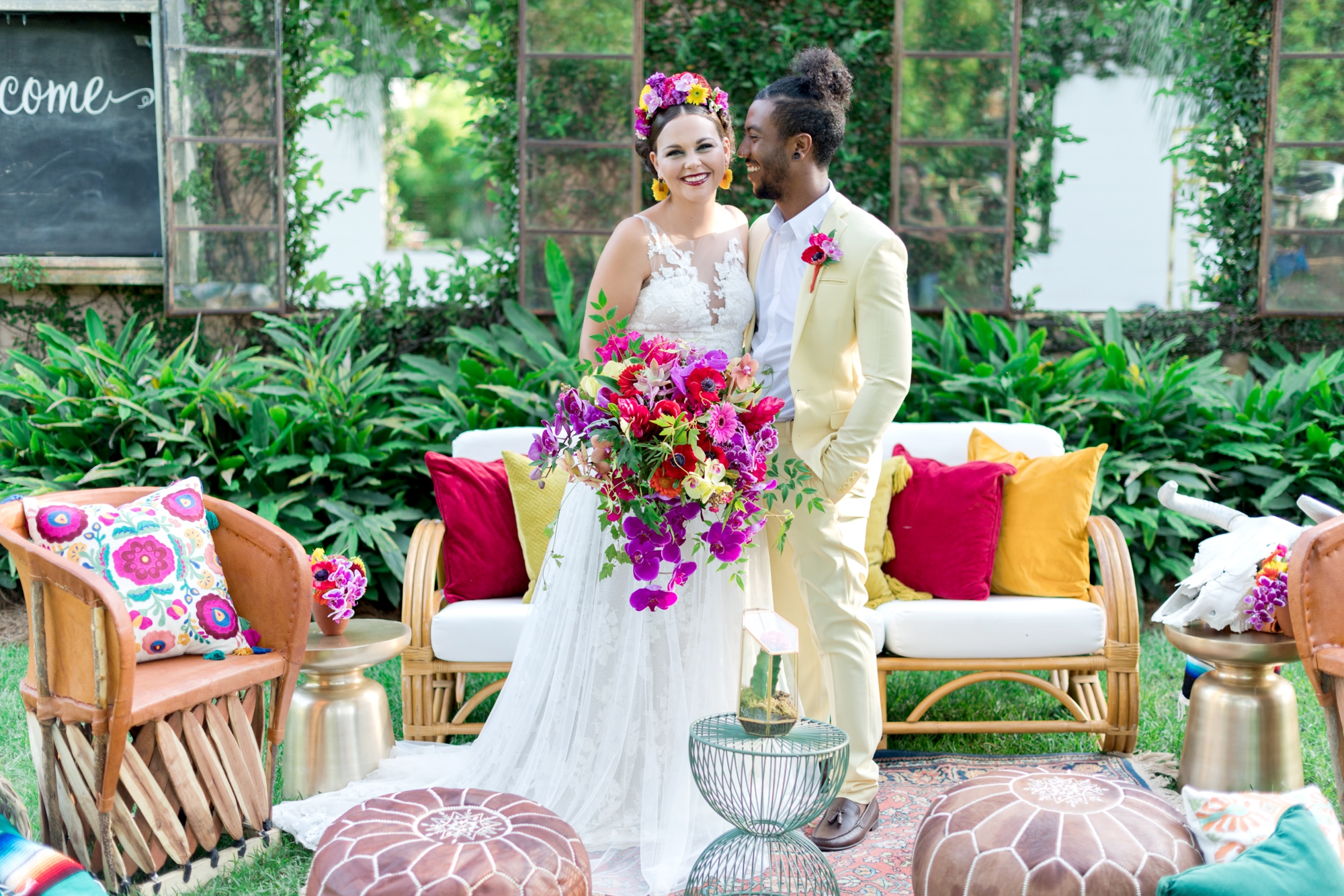 frida khalo inspired wedding