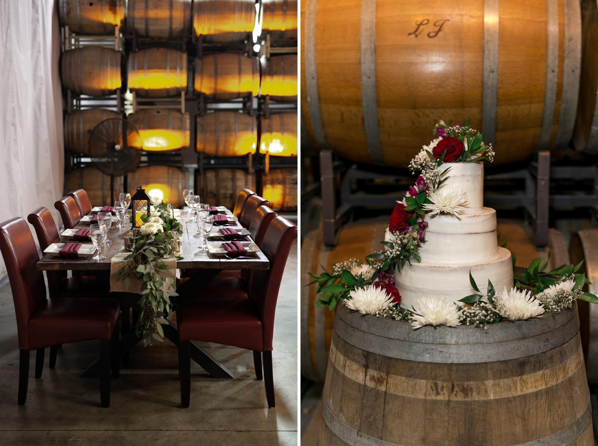 quantum leap winery reception
