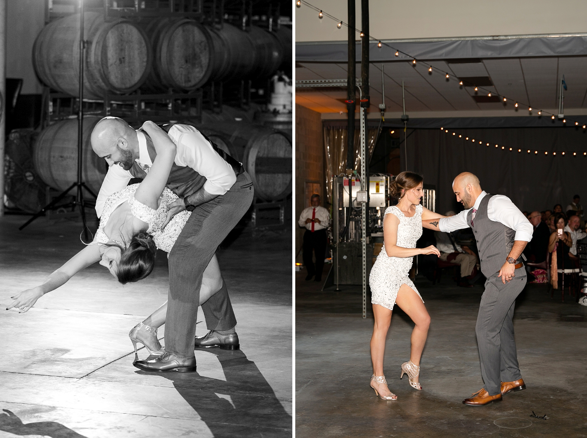 wedding choreographed dance