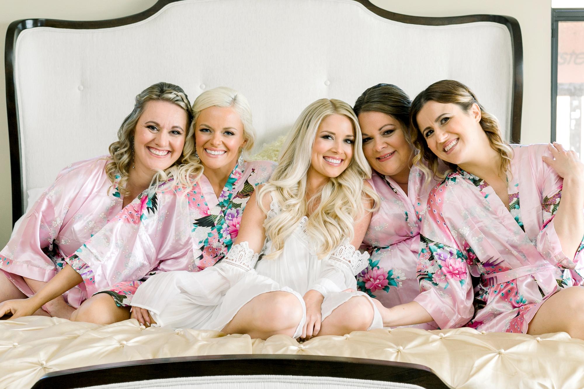 brides maids robes