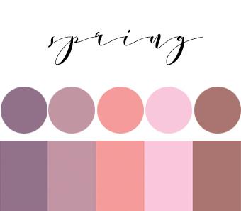 2019 Wedding Color Trends By Season