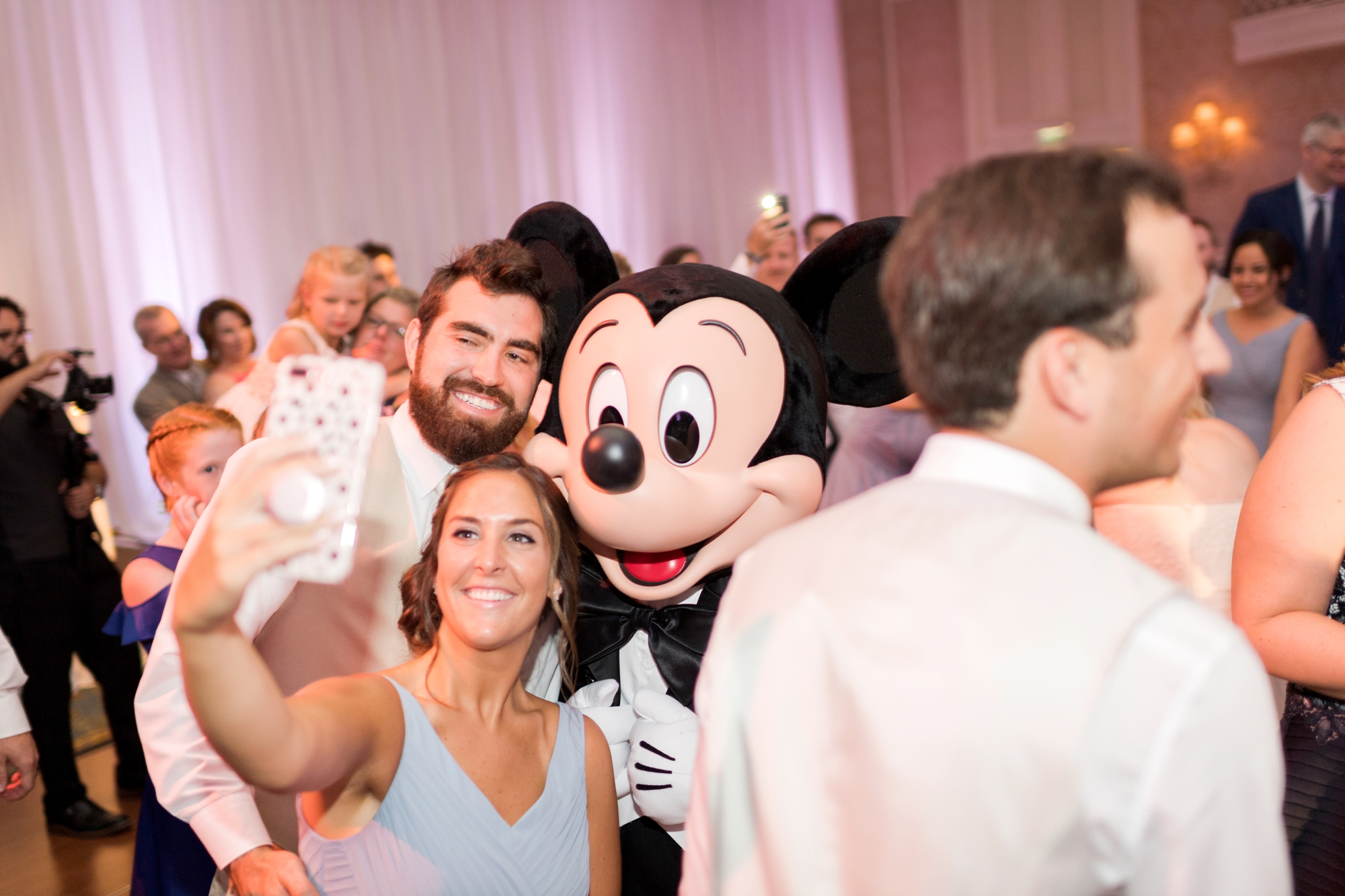 mickey at wedding orlando