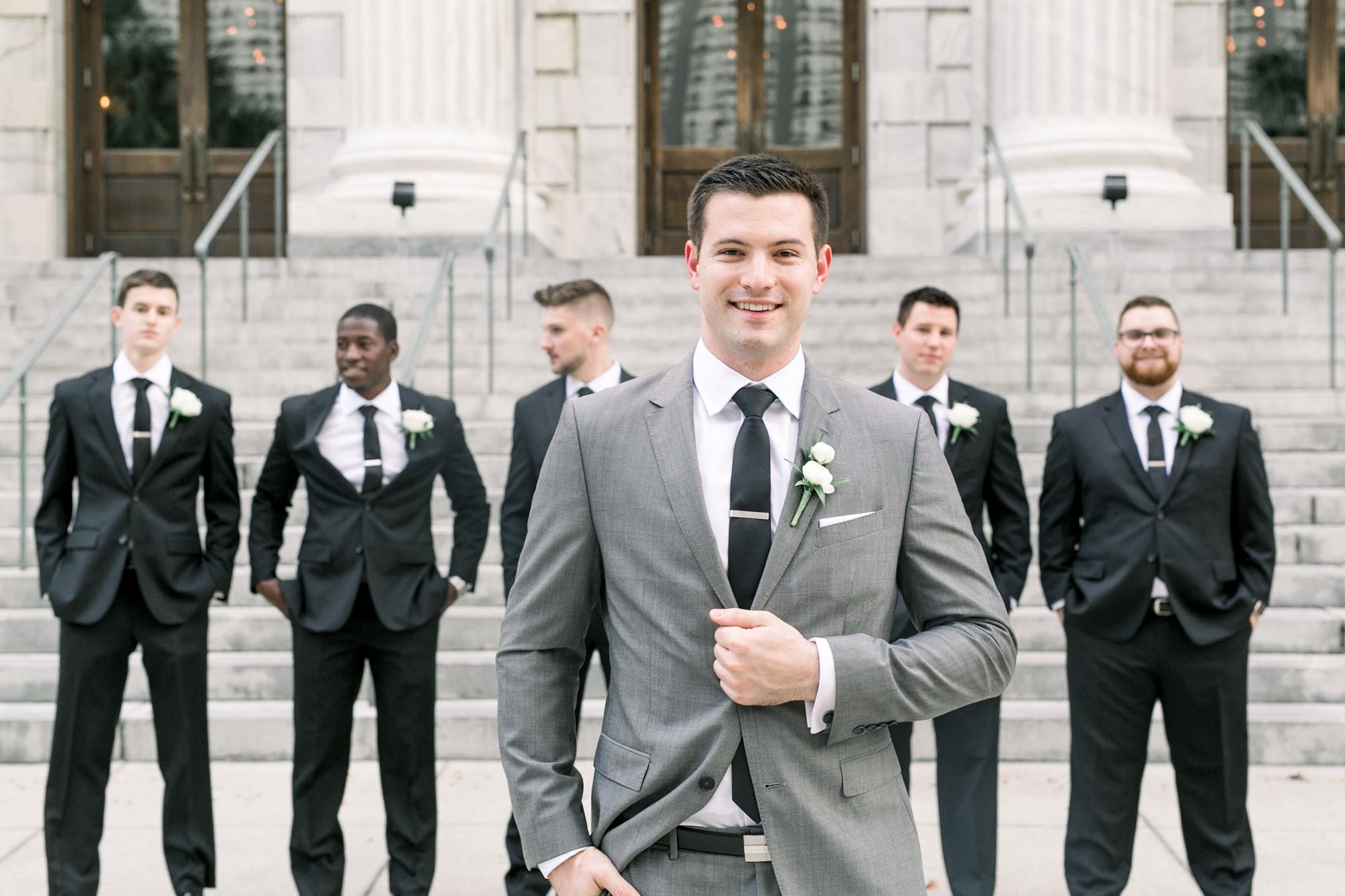 classic groomsmen look